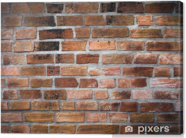 Tableau sur toile Mur briques anciennes - Thèmes