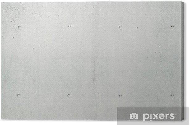 Tableau sur toile Mur de béton - iStaging