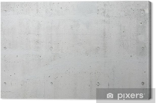 Tableau sur toile Mur de béton - Thèmes