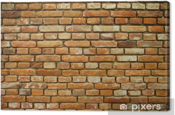 Tableau sur toile Mur de briques texture de fond - Thèmes