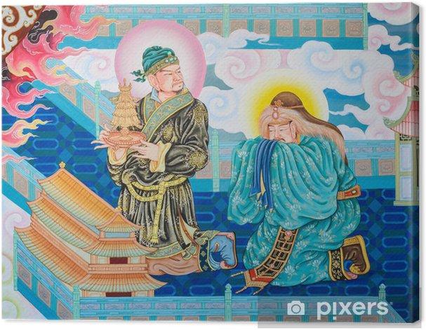 Tableau sur toile Murale peinture chinoise art - Asie