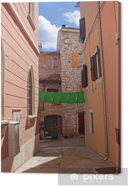 Tableau sur toile Narrow alley - Thèmes