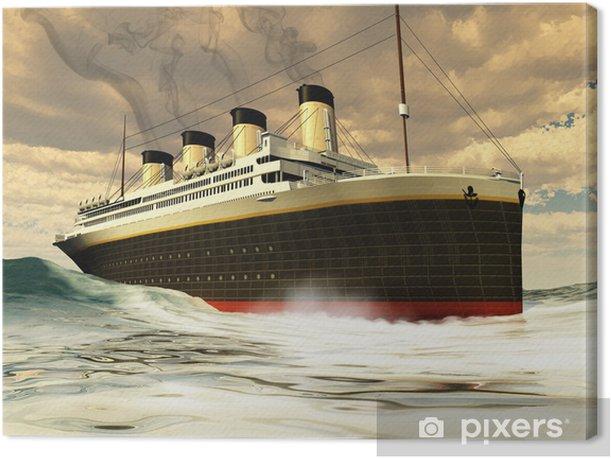 Tableau sur toile Navire Titanic - Thèmes