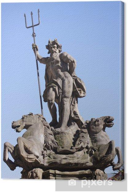 Tableau sur toile Neptun - Monuments