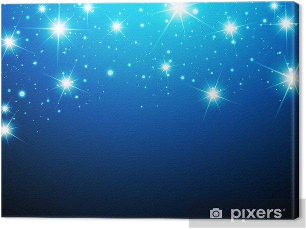 Tableau sur toile Night Star Contexte - Thèmes