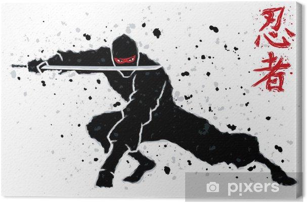 Tableau sur toile Ninja - Karaté