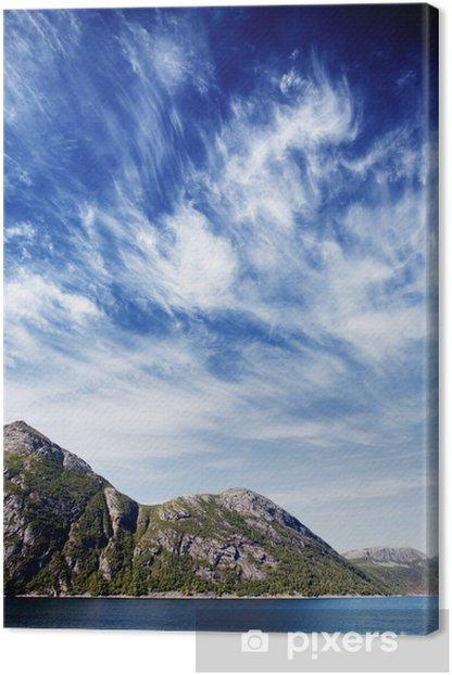 Tableau sur toile Norvège paysage du fjord - Europe