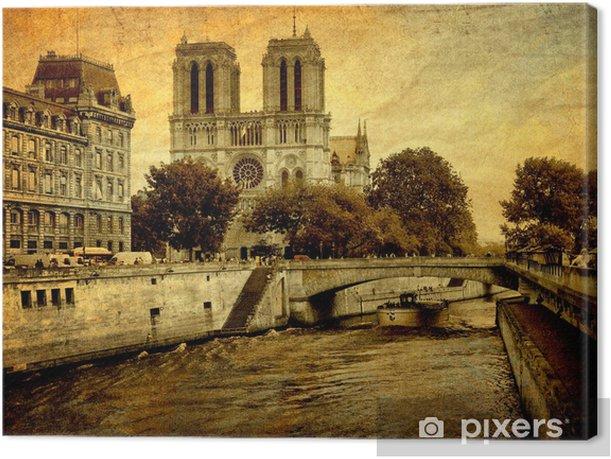 Tableau Sur Toile Notre Dame De Paris Pixers Nous Vivons Pour Changer