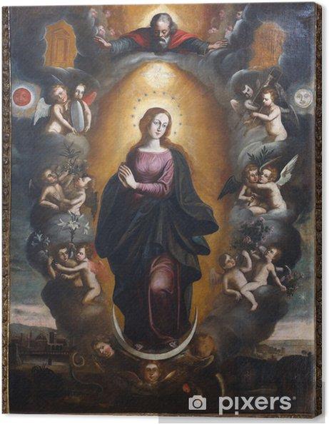 Tableau sur toile Notre-Dame-Immaculée 1 - Culture et religion