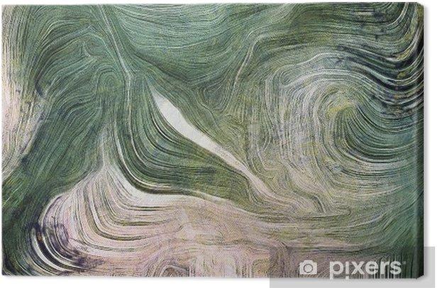 Tableau sur toile Nuances de vert - Ressources graphiques