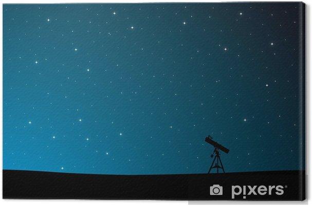 Tableau sur toile Observation des étoiles - Ciel