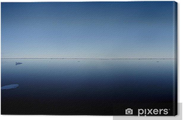 Tableau sur toile Océan Arctique - Eau