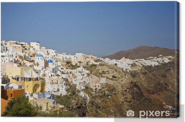 Tableau sur toile Oia, Santorin, Paysage, Grèce - Europe