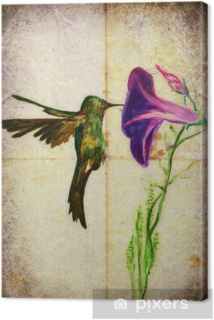 Tableau Sur Toile Oiseau Colore De Notre Region Le Colibri Pixers Nous Vivons Pour Changer