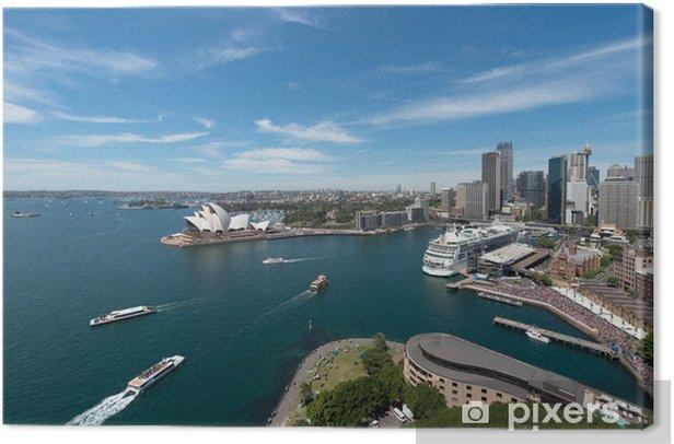 Tableau sur toile Opéra est l'emblème de Sydney - Thèmes