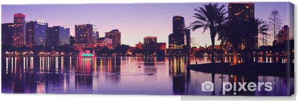 Tableau sur toile Orlando silhouette - Amérique