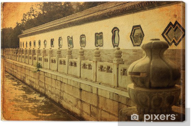 Tableau sur toile Palais d'Eté à Beijing - Yihe Yuan - Villes d'Asie