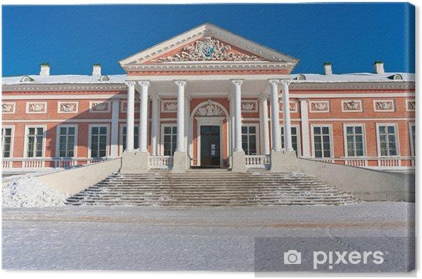 Tableau sur toile Palais et Kuskovo. - Villes d'Asie