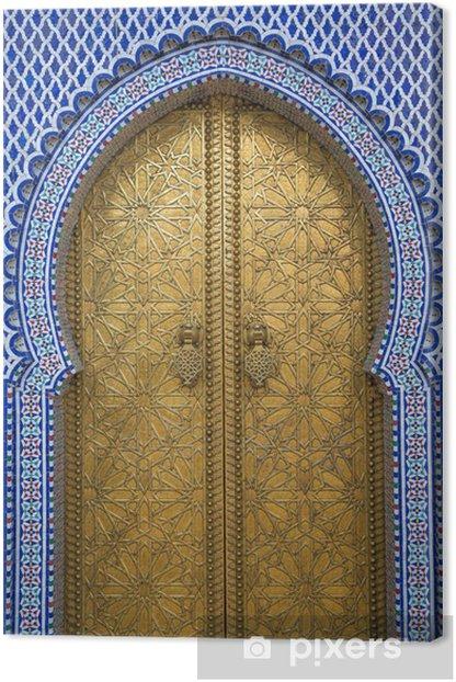 Tableau sur toile Palais Royal à Fès, Maroc - Thèmes