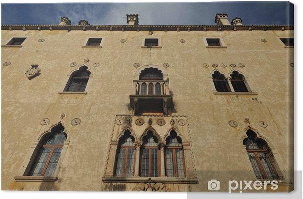 Tableau sur toile Palais vénitien à Udine - Monuments