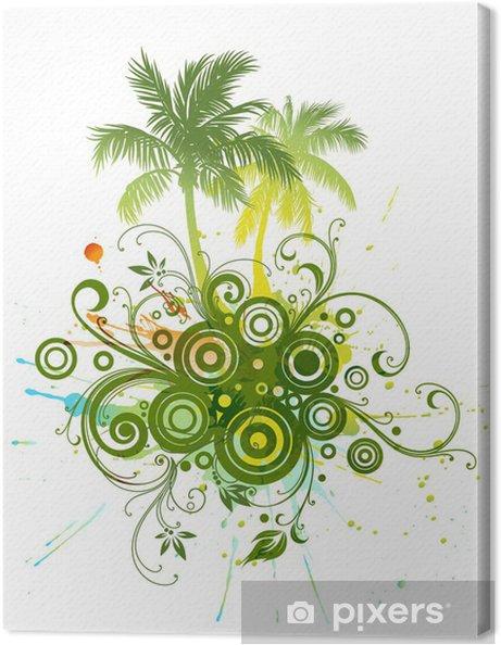 Tableau sur toile Palm trees - Palmiers