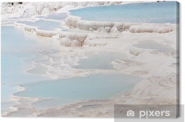 Tableau sur toile Pamukkale travertins - Nature et régions sauvages