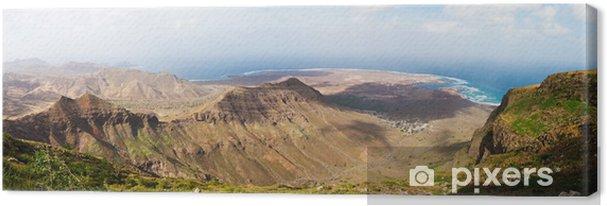 Tableau sur toile Panorama du Cap-Vert - Afrique
