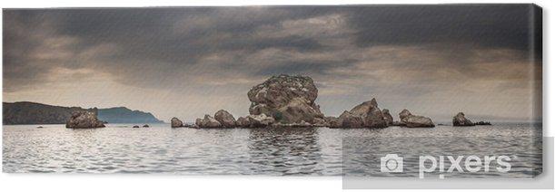 Tableau sur toile Panorama. Seascape. Péninsule de Crimée - Vacances