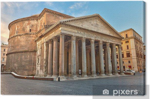 Tableau sur toile Panthéon à Rome, Italie - Thèmes