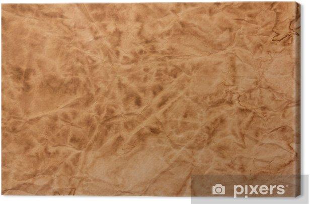 Tableau sur toile Papier ancien - Art et création