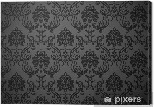 Tableau sur toile Papier-peint baroque - iStaging 2