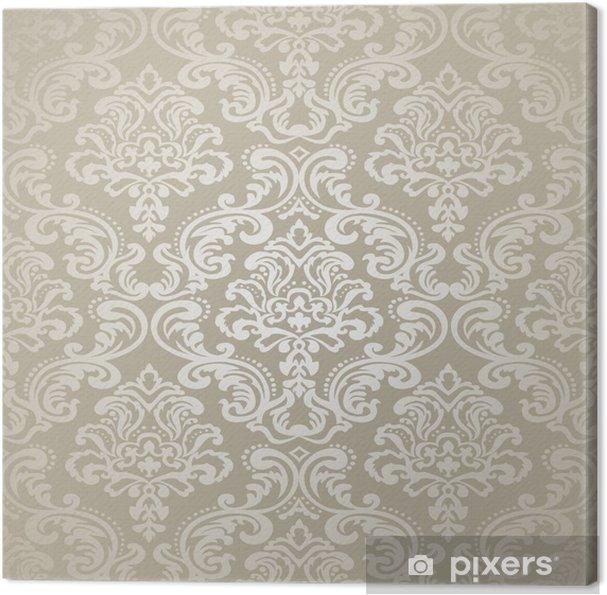 Tableau sur toile Papier peint motif de background.Damask - Styles