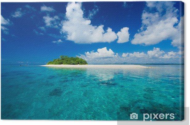 Tableau sur toile Paradis tropical vacances île - Vacances
