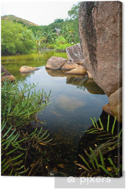 Tableau sur toile Paradis - Merveilles naturelles