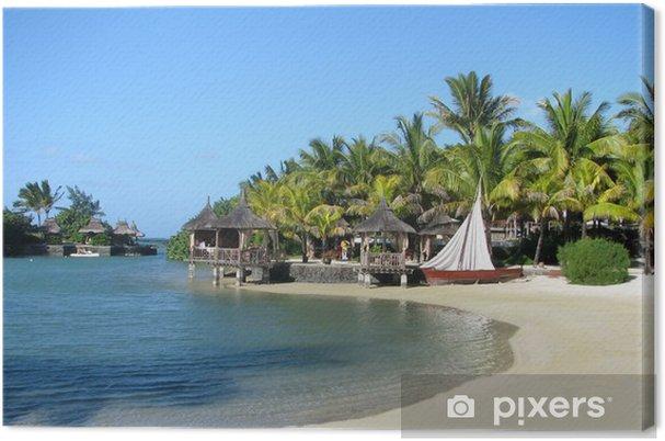 Tableau sur toile Paradise Cove - Vacances
