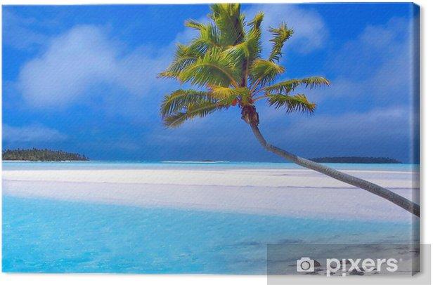 Tableau sur toile Paradise palm - Palmiers