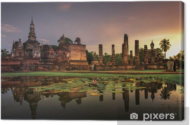 Tableau sur toile Parc historique de Sukhothai - Asie