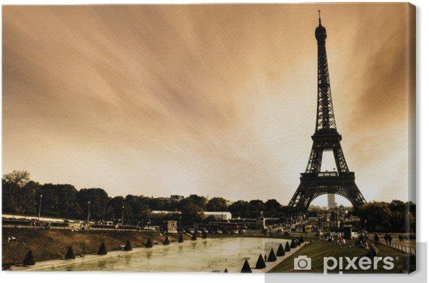 Tableau sur toile Paris - La Tour Eiffel - Thèmes