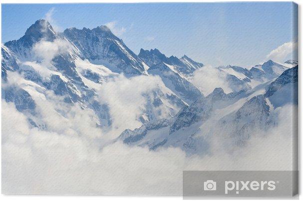 Tableau sur toile Paysage de montagne dans les Alpes - Styles