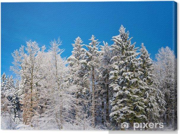 Tableau sur toile Paysage de neige - Saisons