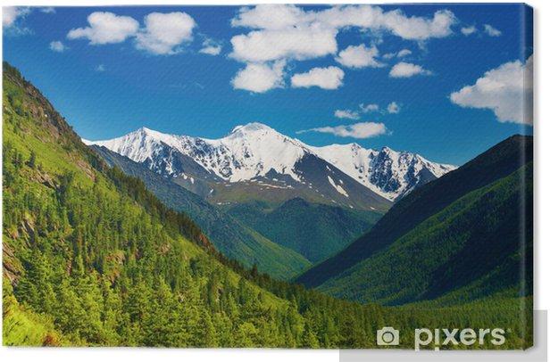 Tableau sur toile Paysage montagne - Ciel