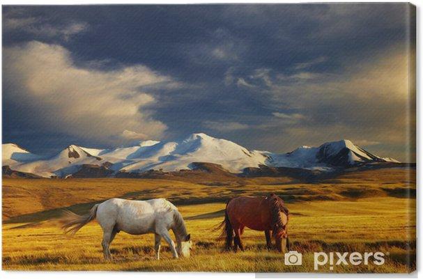 Tableau sur toile Paysage montagne - Thèmes
