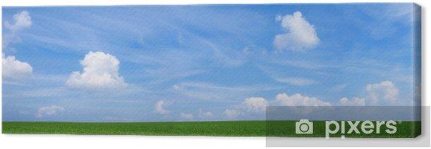 Tableau sur toile Paysage panoramique - Campagne
