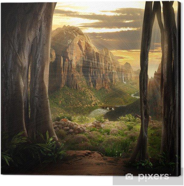 Tableau sur toile Paysage Phantasy - Thèmes