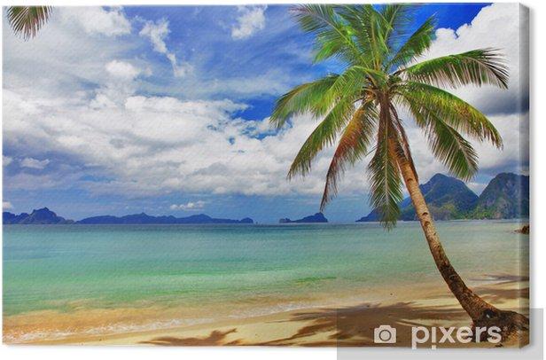 Tableau sur toile Paysage tropical relaxant - Thèmes