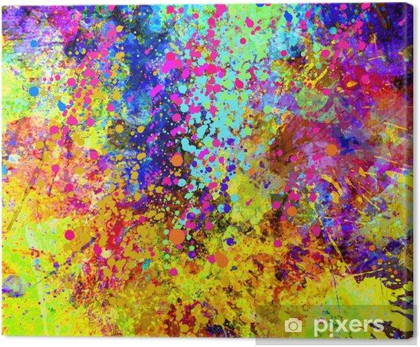 Tableau sur toile Peinture abstraite - Ressources graphiques