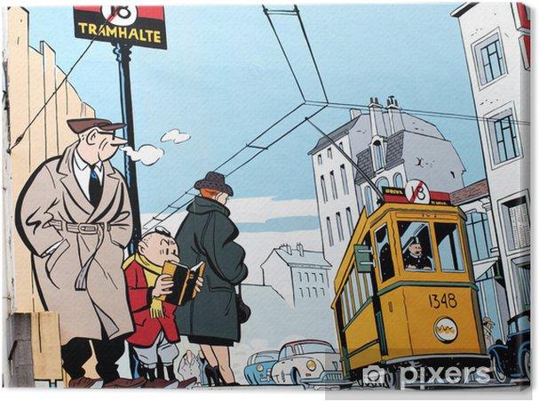 Tableau sur toile Peinture murale à Bruxelles - Styles