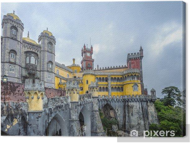 Tableau sur toile Pénalité palais, Sintra, Portugal - Villes européennes