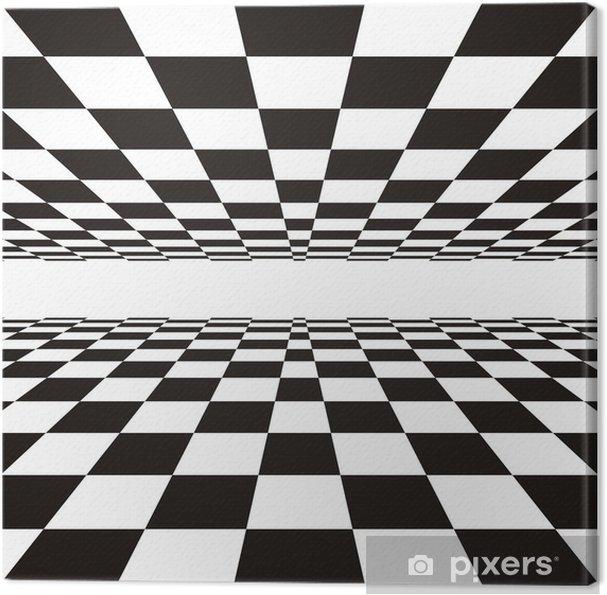 Tableau sur toile Perspective linéaire • Pixers® - Nous vivons pour ...