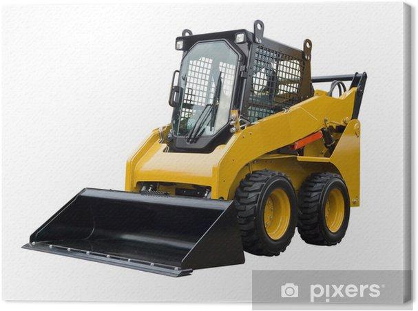 Tableau sur toile Petit bulldozer - Industrie lourde